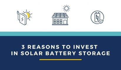 Battery Storage - 3 Reasons