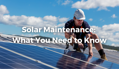 Solar Maintenance Overview